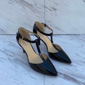 Liz Claiborne Harlan Black Heels Size 7.5M. S500